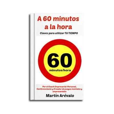 portada del libro a 60 minutos a la hora