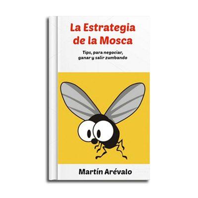 portada del libro la estrategia de la mosca