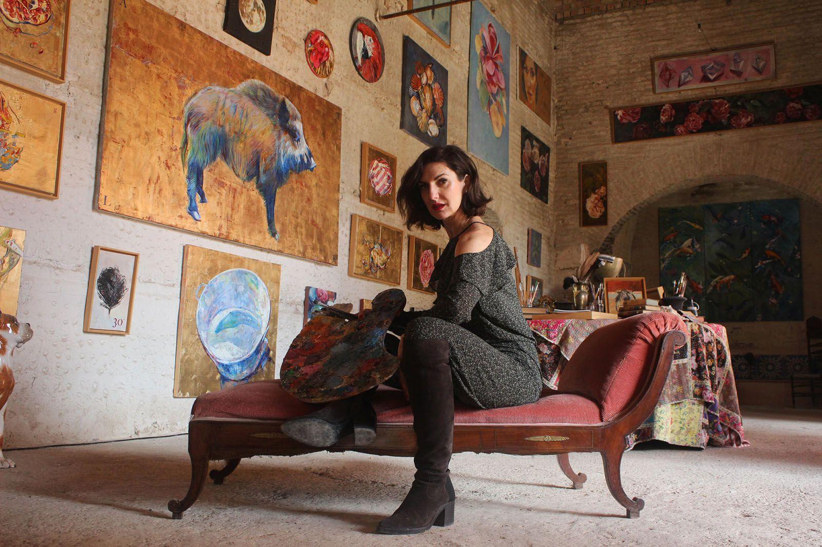 foto pintora cristina ybarra